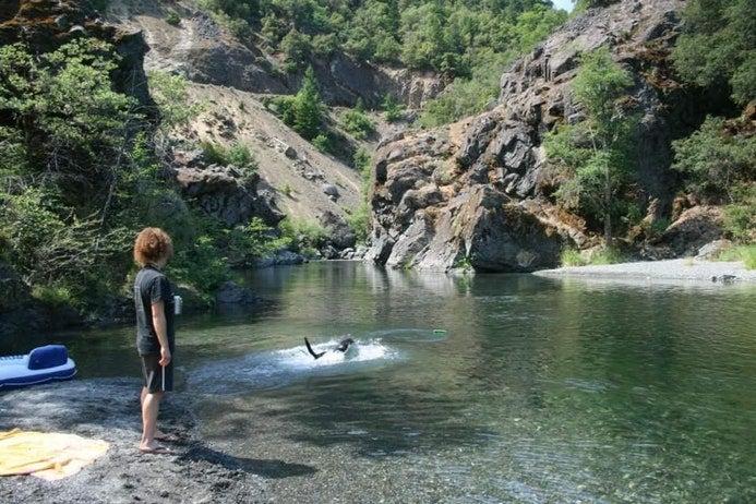 matthews creek campground california watering holes