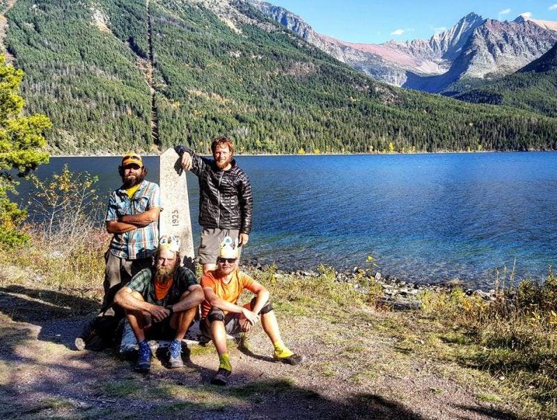 thru hiking triple crowners