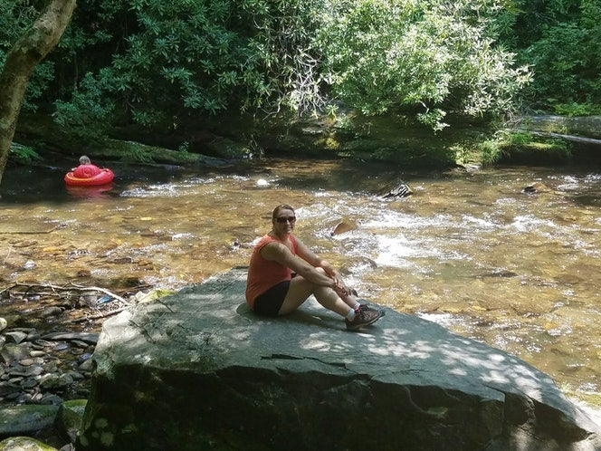 Deep Creek Campground swimming holes