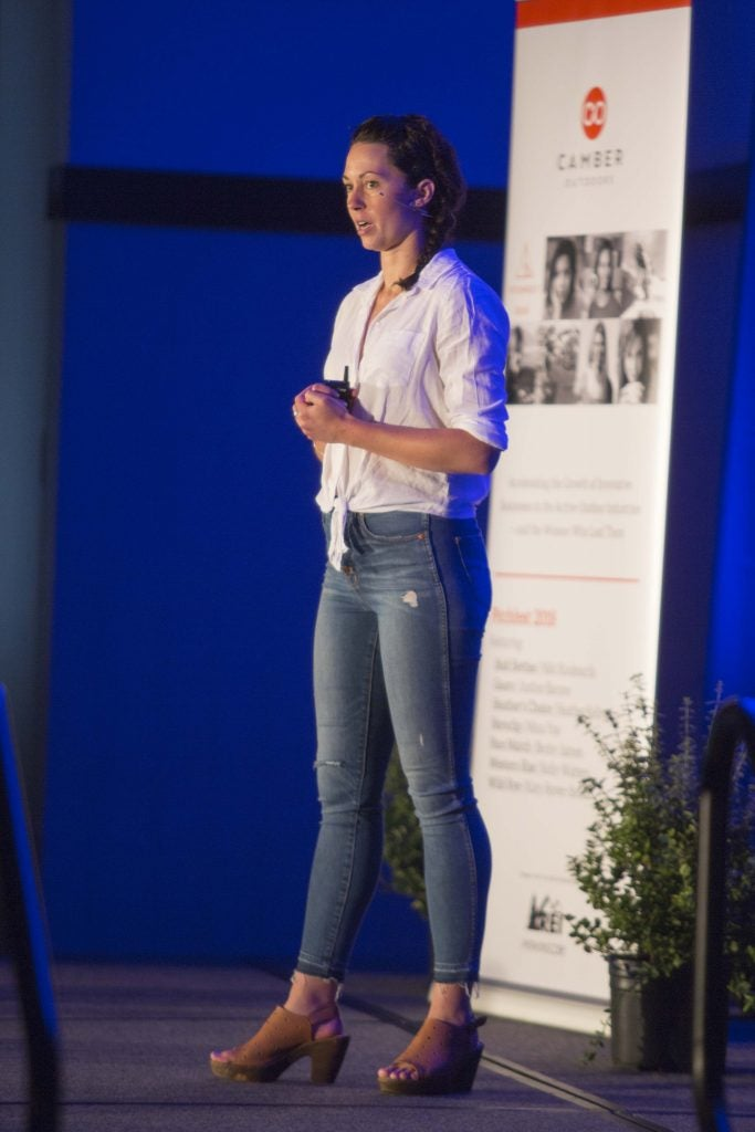 presenting at camber's pitchfest