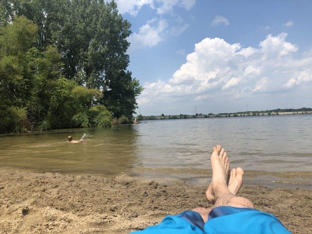 alum creek camping near bike store