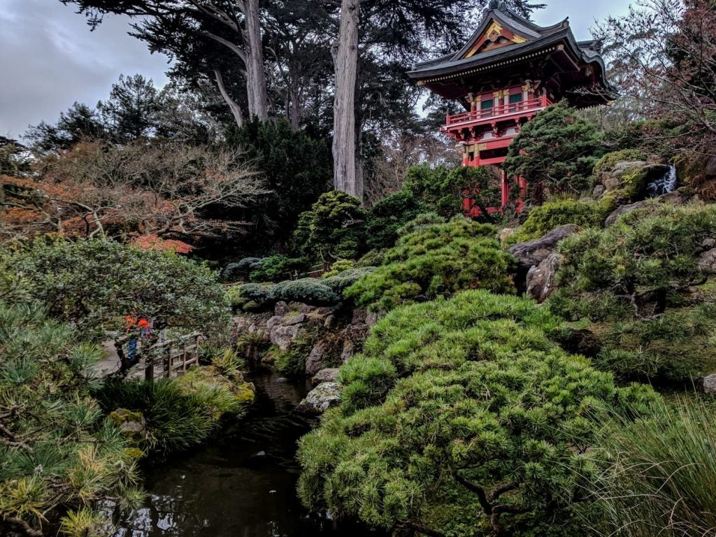 Golden Gate Park Japanese Garden San Francisco