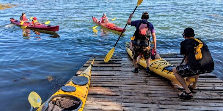 camp jobs as a kayak instructor
