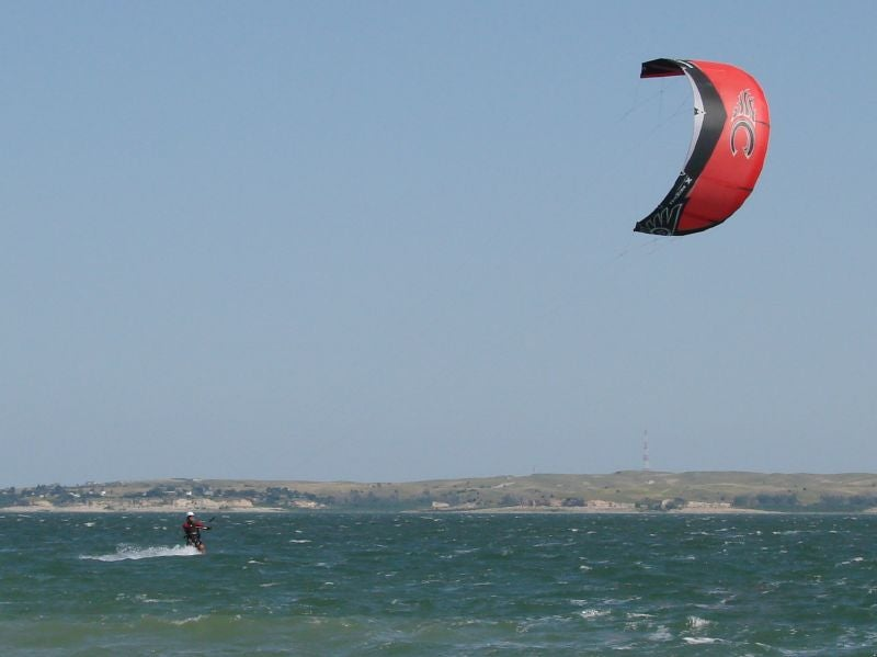 camping lake mcconaughy for paragliding chances
