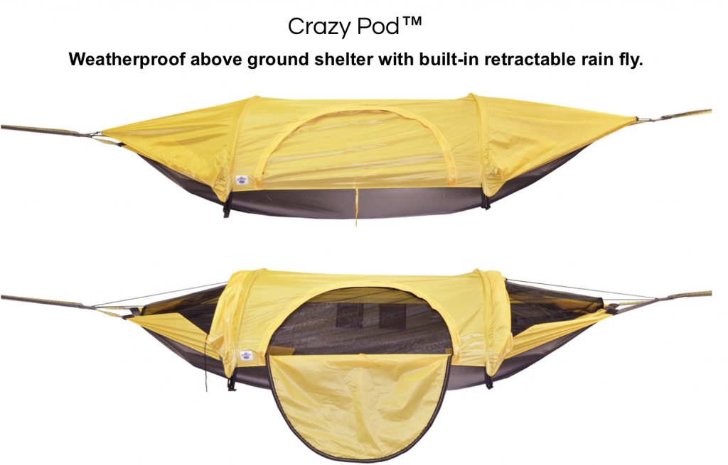 crazy pod preview from crazy creek hammocks