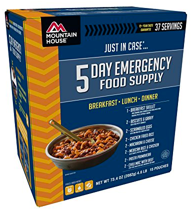 emergency food supply for hurricane florence