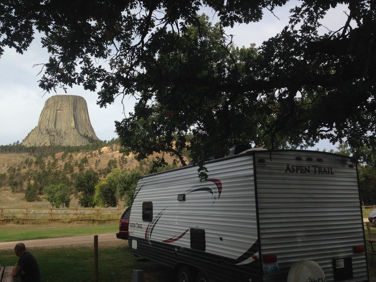 devils tower camping koa