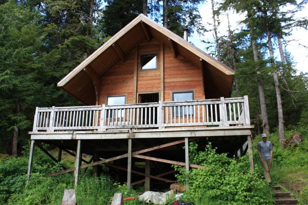 cozy cabins in alaska