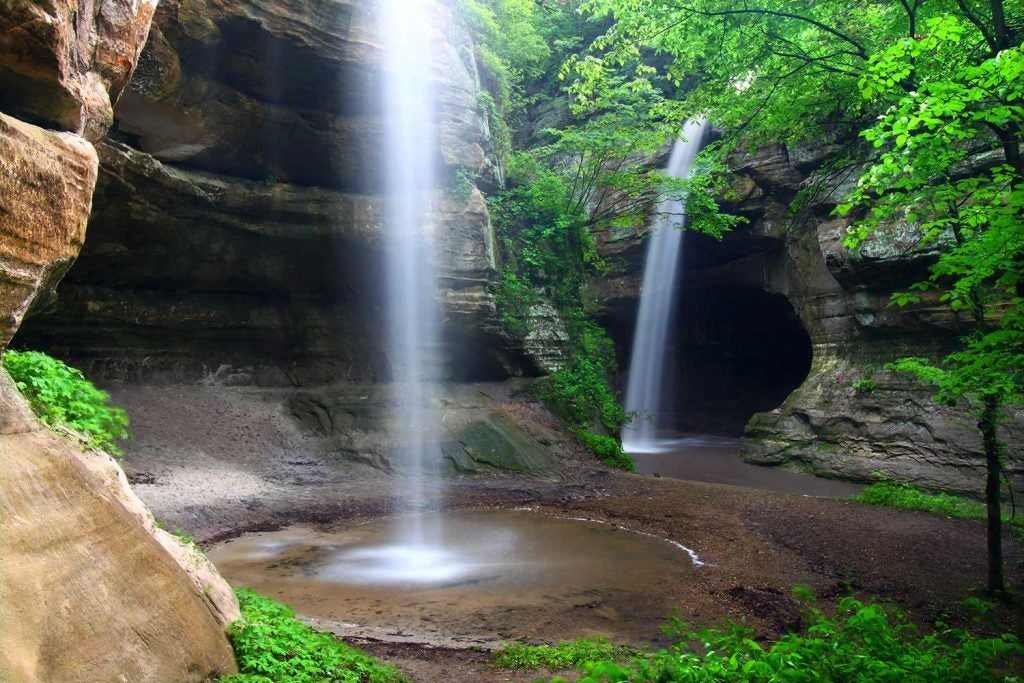 starved rock campgrounds in illinois