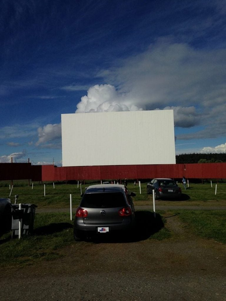 drive in theater near deception pass state park