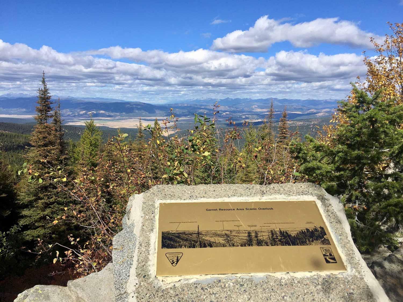 Garnet Scenic Overlook, Montana