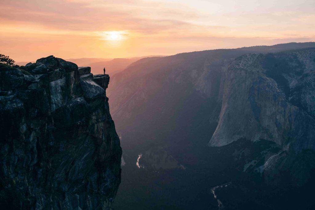 Taft Point, Yosemitie National Park