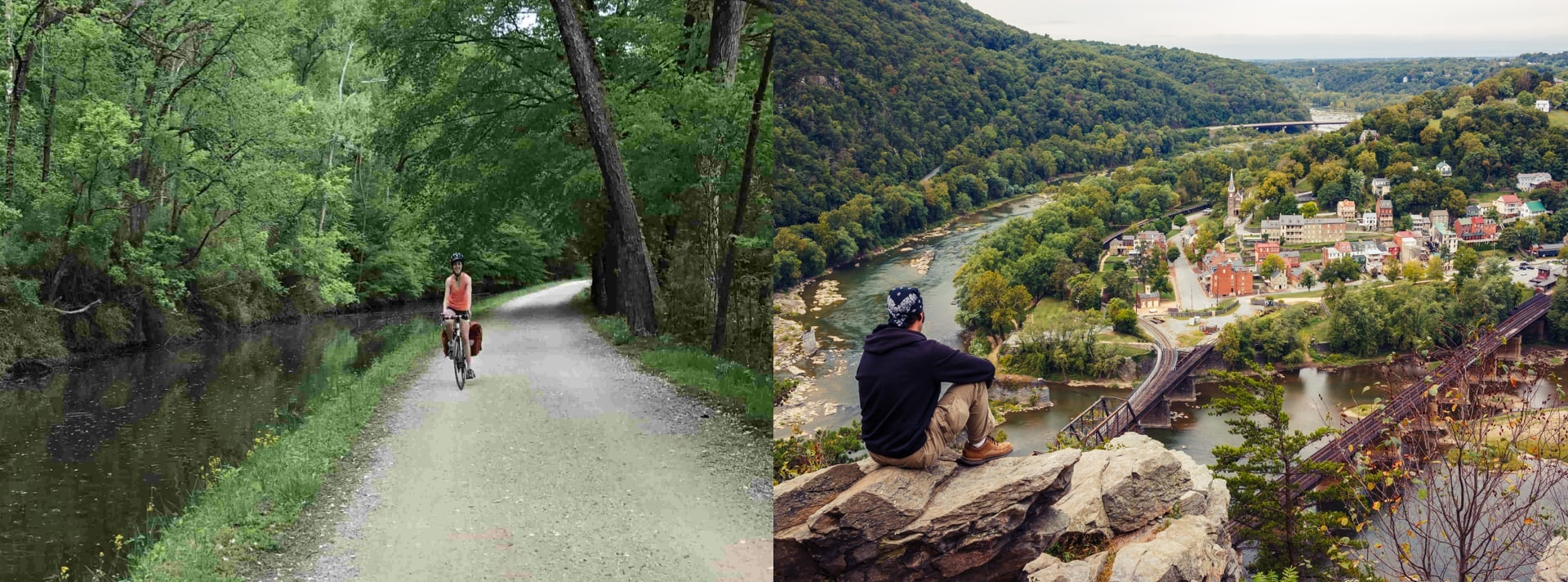 cycling and camping along the c&o canal towpath