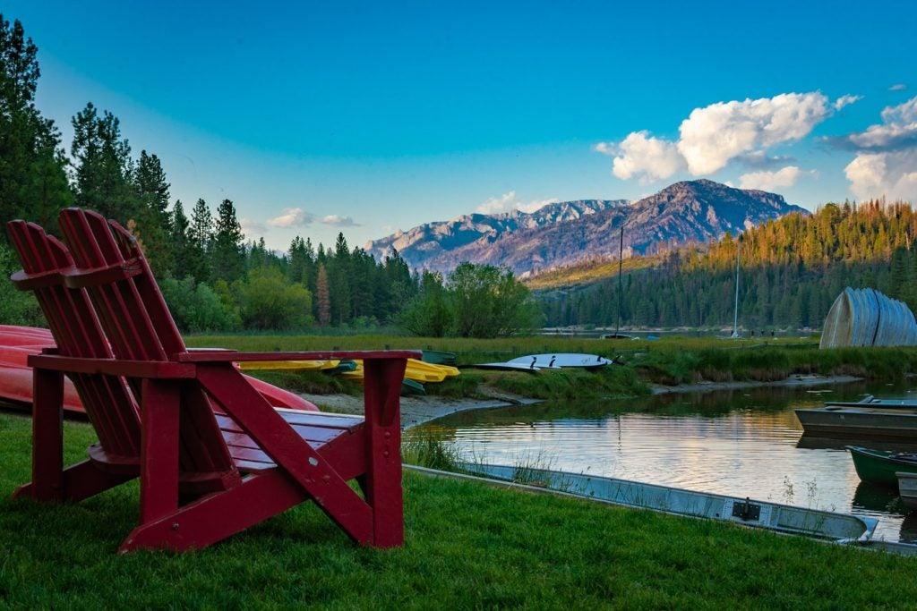 hume lake camping views