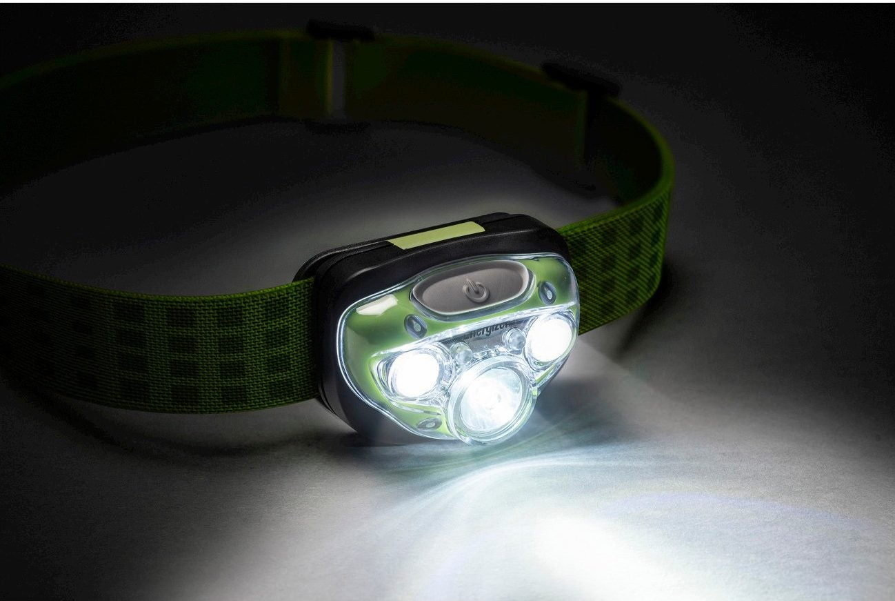 energizer vision hd headlamp in green