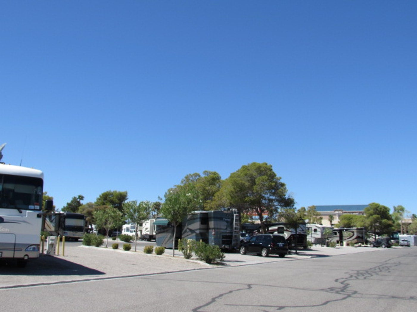 las vegas rv resorts, koa, sam's town