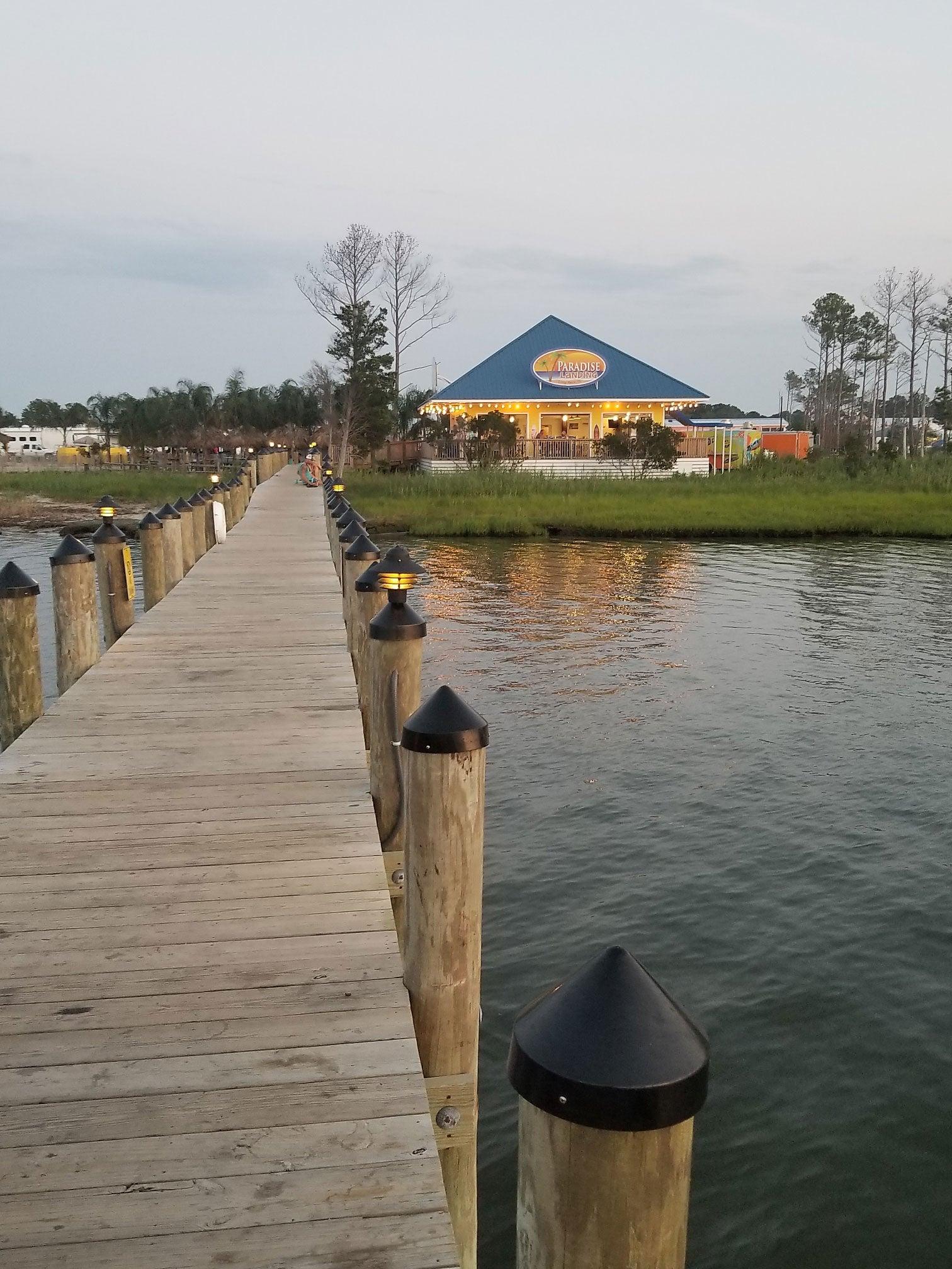 waterfront restaurant near massey's landing
