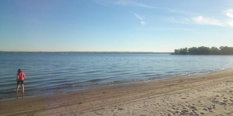 Martin Bay campground at Nebraska's Lake McConaughy Camping