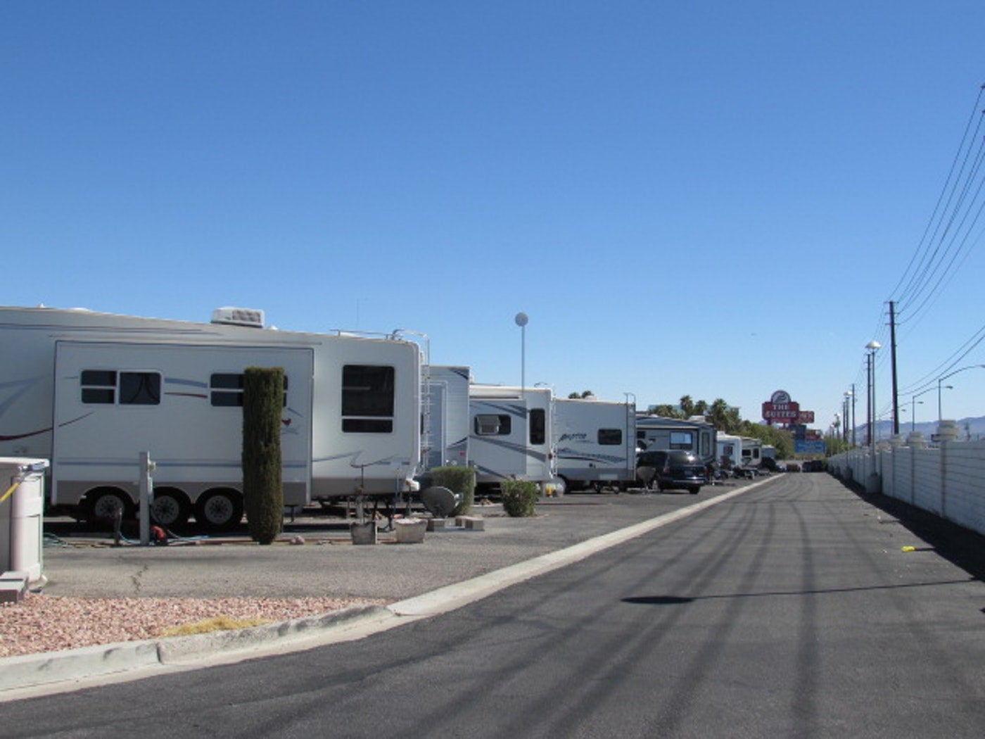 las vegas rv parks, road runner rv park
