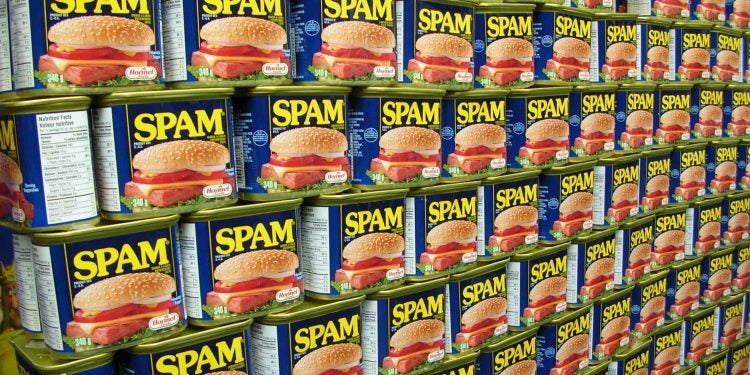 a wall of canned spam