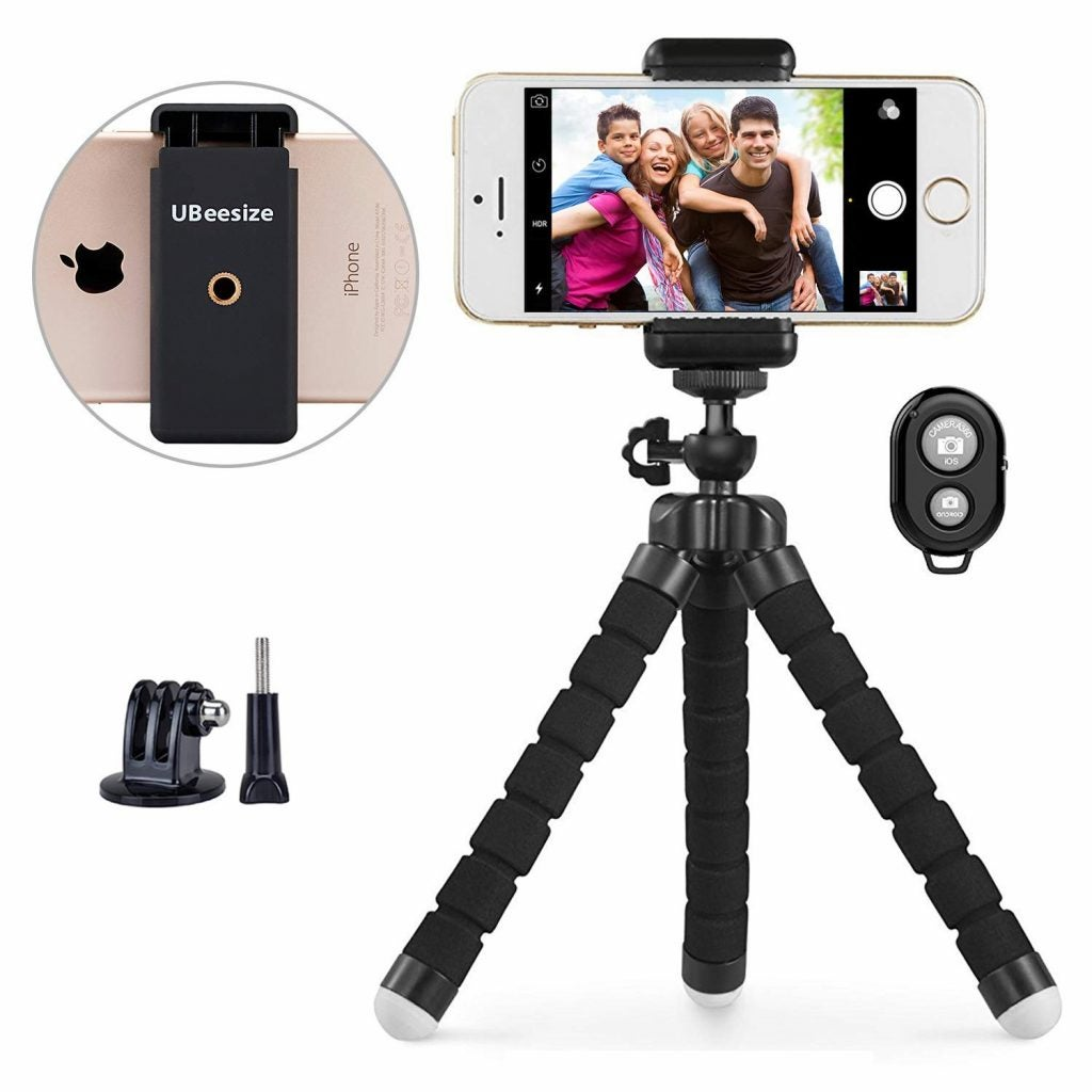 Ubeesize Flexible Phone Tripod — The Dyrt's Top Gifts Under $50