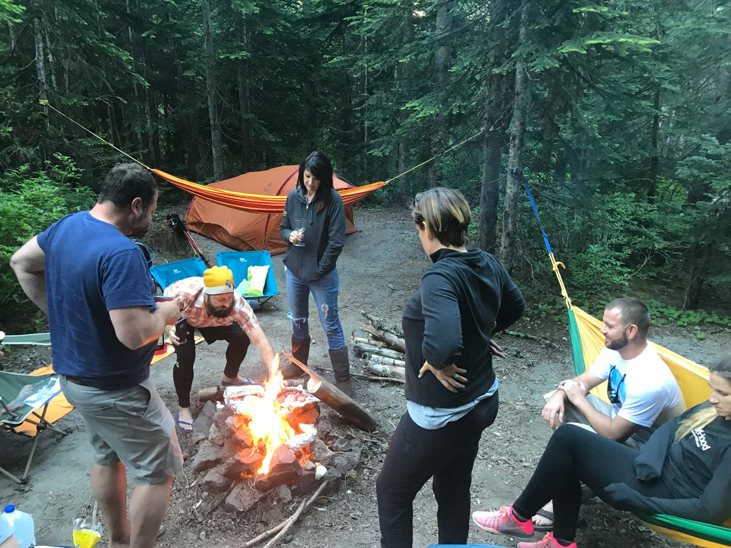 Climbers Bivouac Campground, Mount St. Helens Hikes - Loowit Trail Guide
