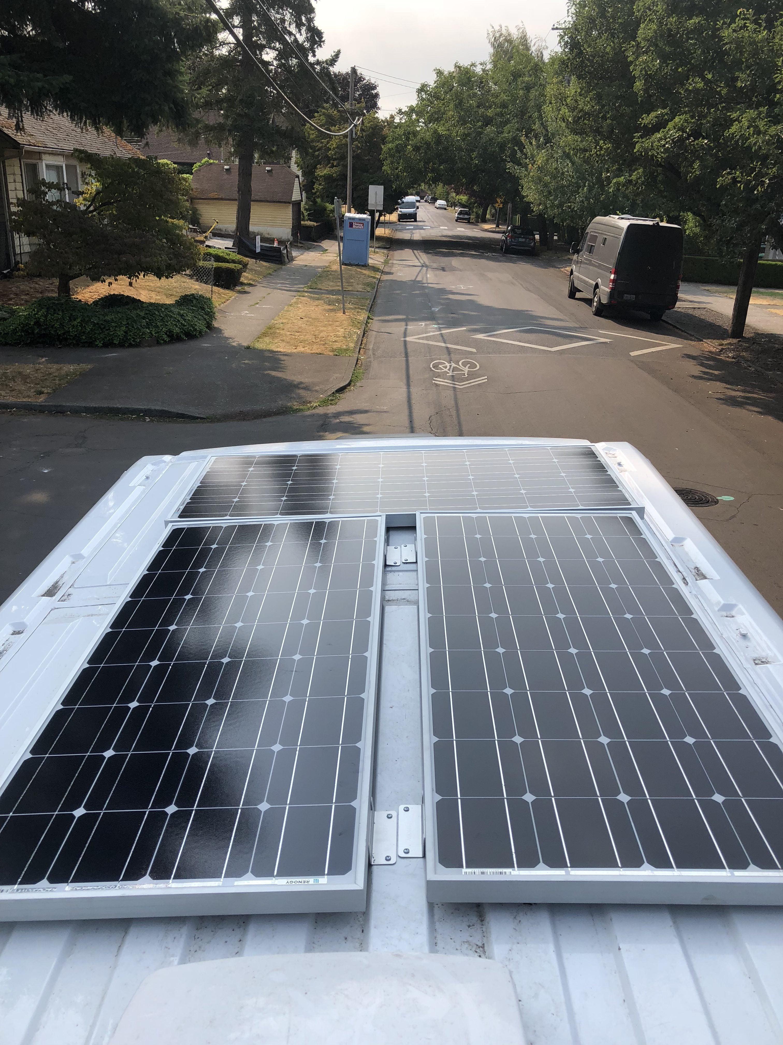 van solar panels Renogy
