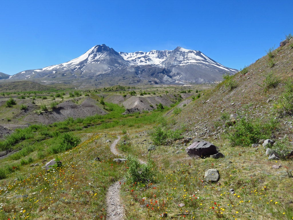 Loowit Trail at Mount St. Helens, Washington State
