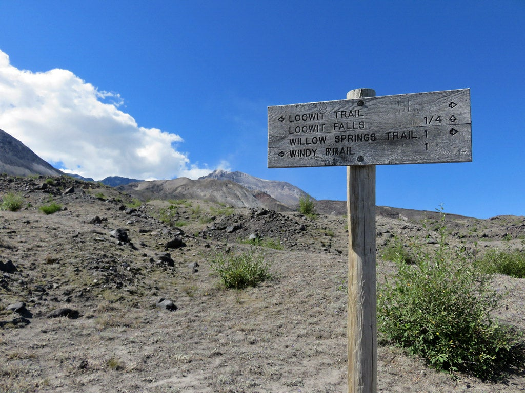Loowit Trail in Mount St. Helens National Volcanic Monument