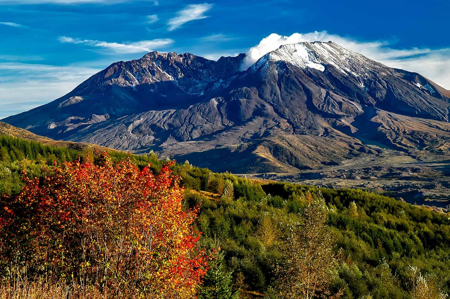 Mount St. Helens, Washington - Loowit Trail Guide
