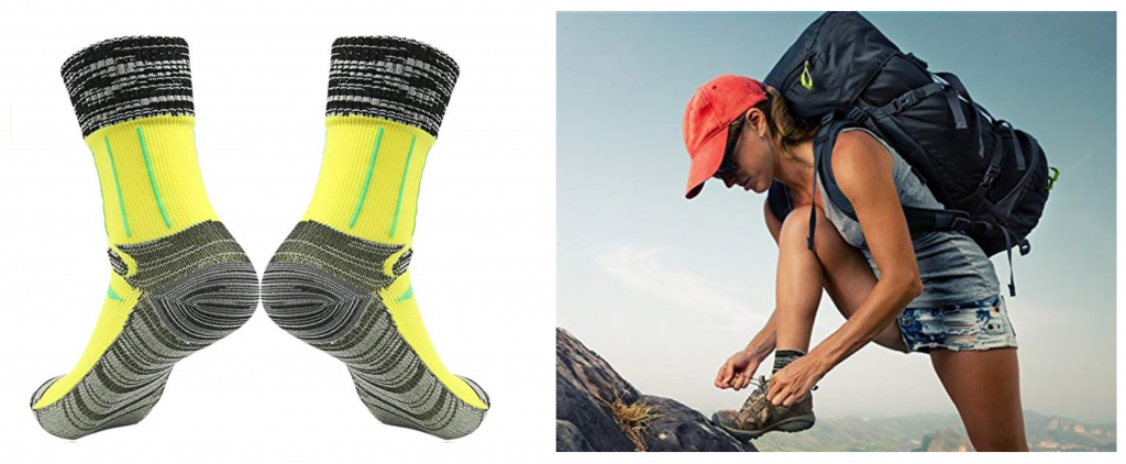 Randy Sun Waterproof Hiking Socks — The Dyrt's Top Gifts Under $50