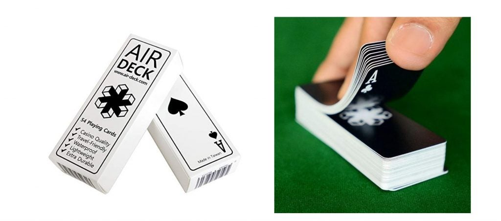 Air Deck Travel Playing Cards — The Dyrt's Top Gifts Under $50