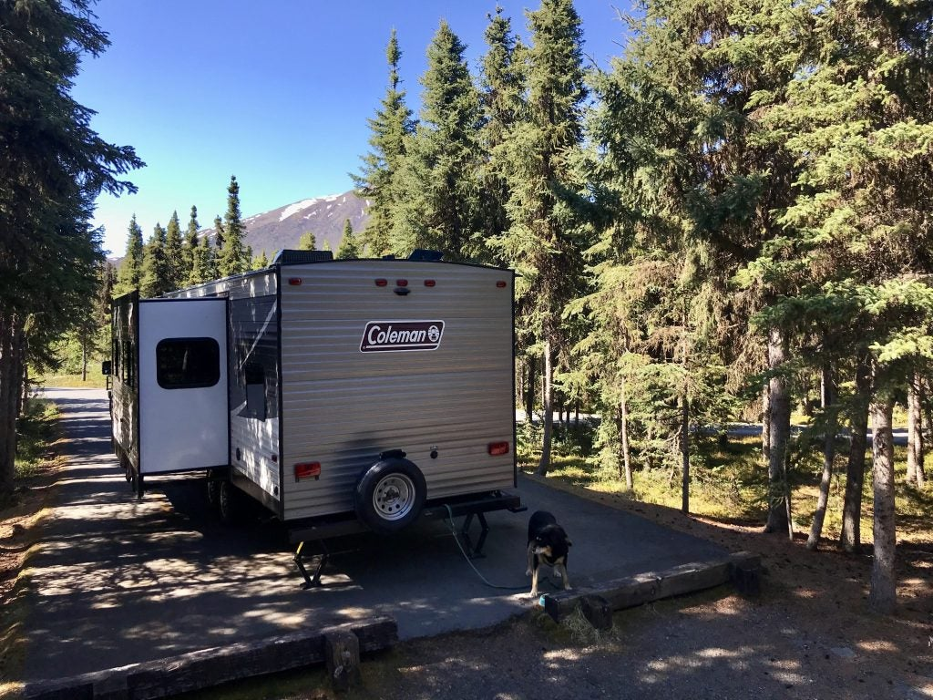 coleman rv at the russian river campground