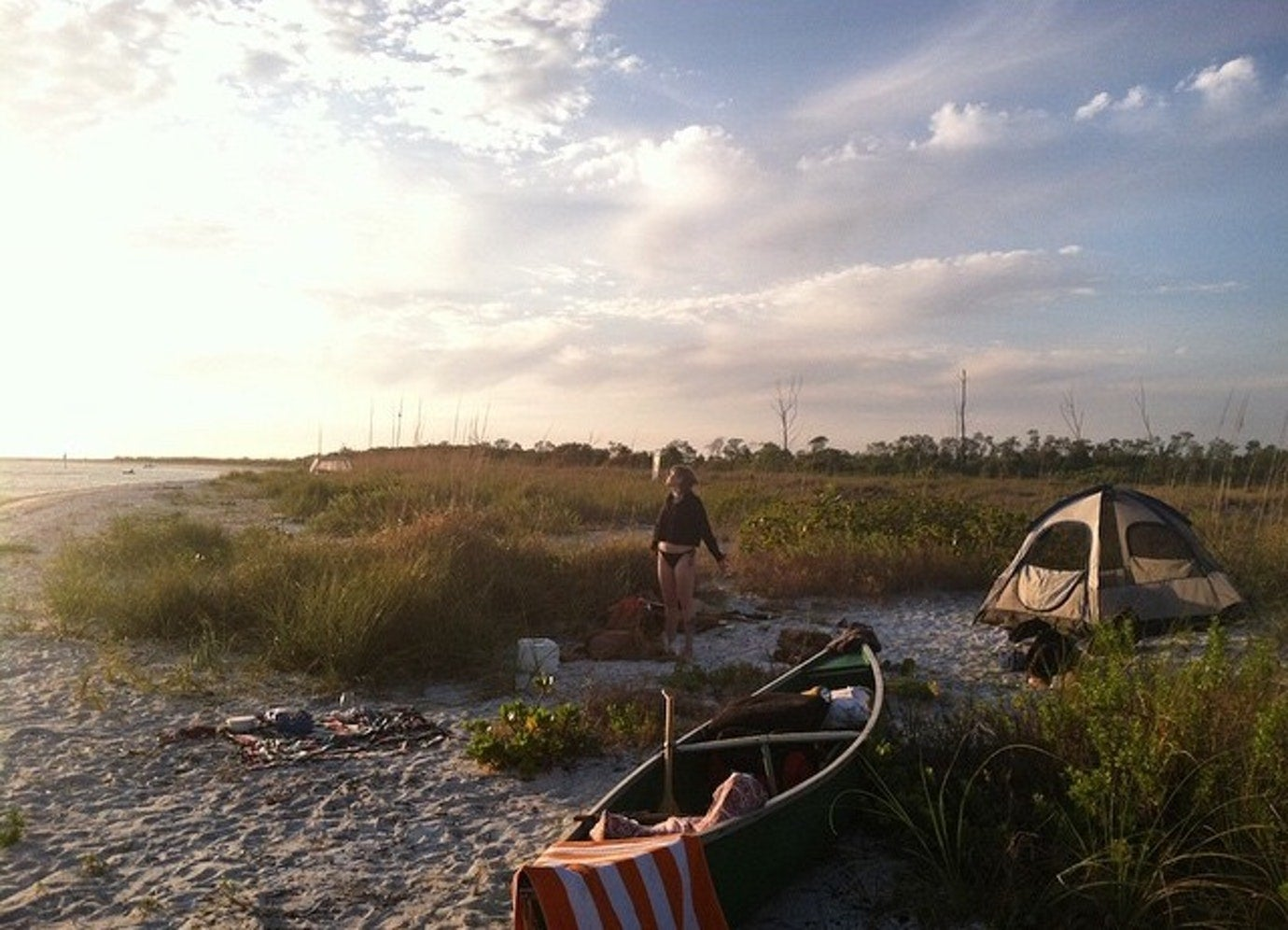 fort de soto beachfront campgrounds in florida