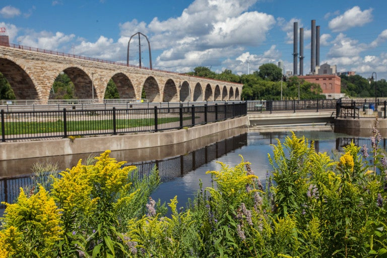 mississippi national river and recreation area, via U S National Park Service