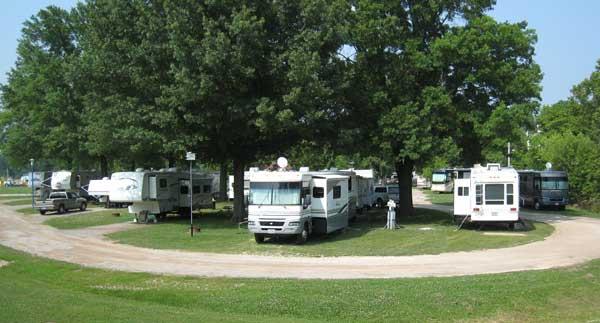 full RV park in hermann, mo