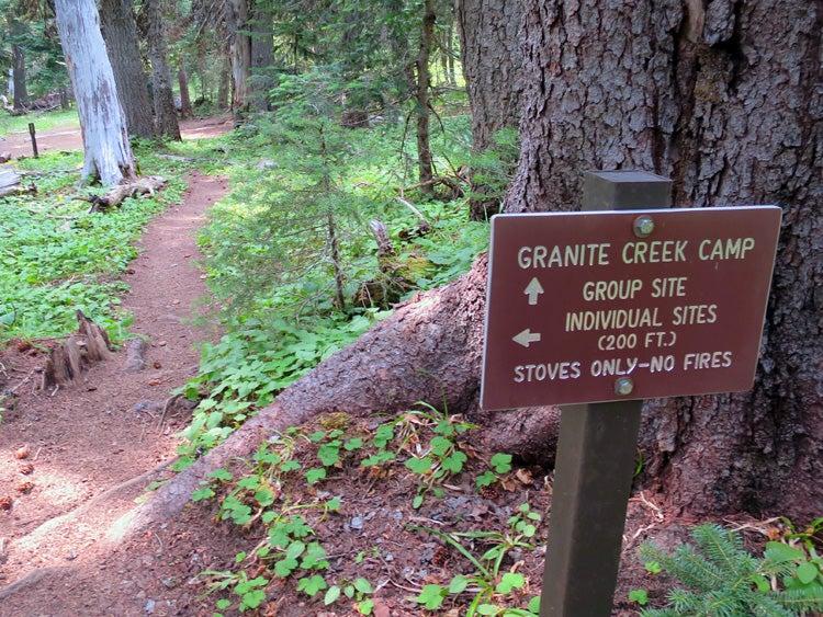 wonderland trail granite creek wilderness camp tami asars