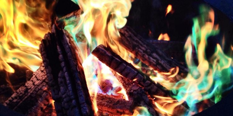 mystical fire, one of the cool camping products we explain