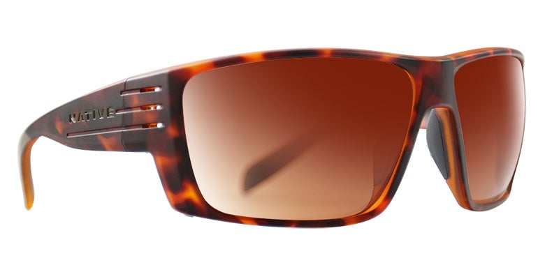 product image of tortoise shell colored anti-fog glasses from native eyewear