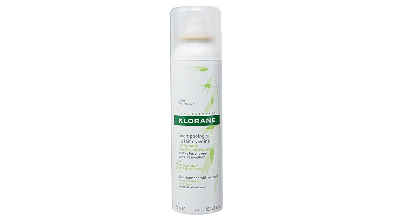 Image of bottle of Klorane eco friendly dry shampoo