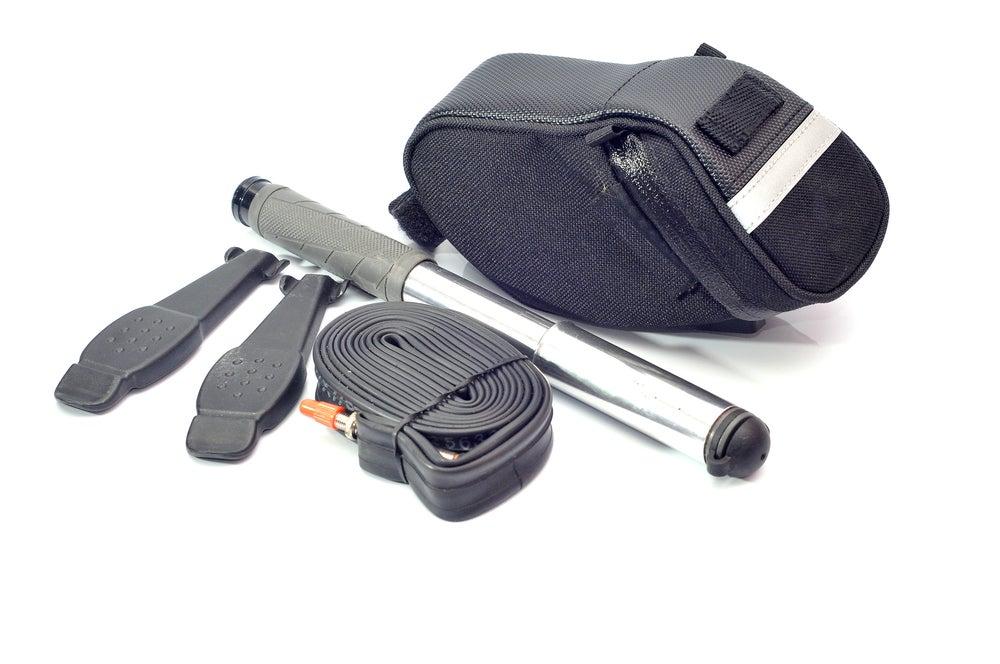 a bike repair kit