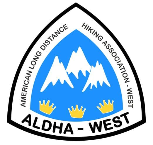 american long distance hiking association west logo for teaching hiking and backpacking tips