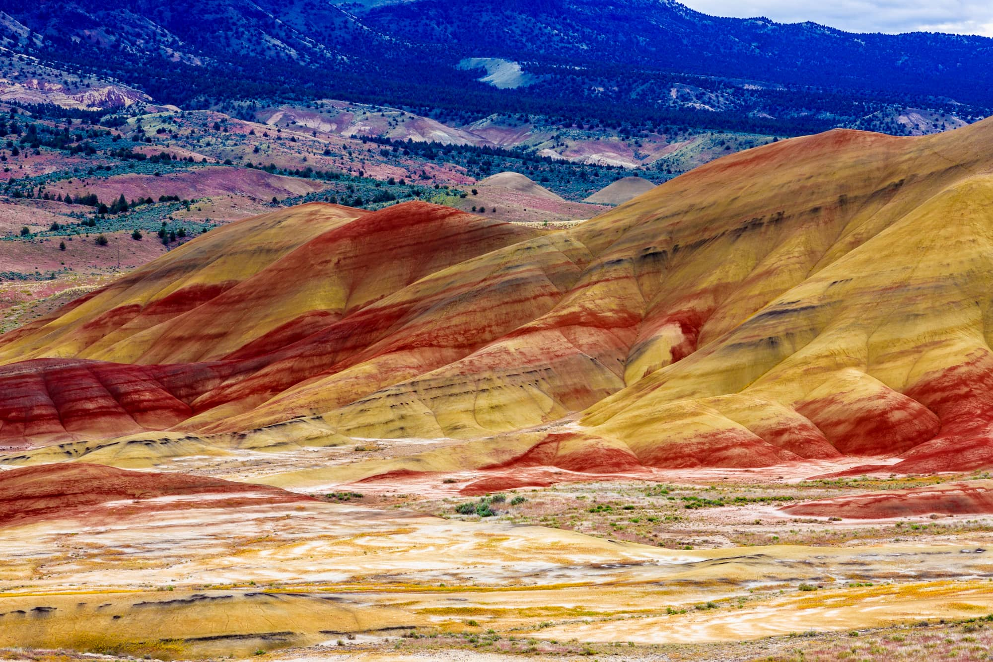 Painted Hills Oregon Map Painted Hills Visitor Guide   Things to Do in John Day Fossil Beds