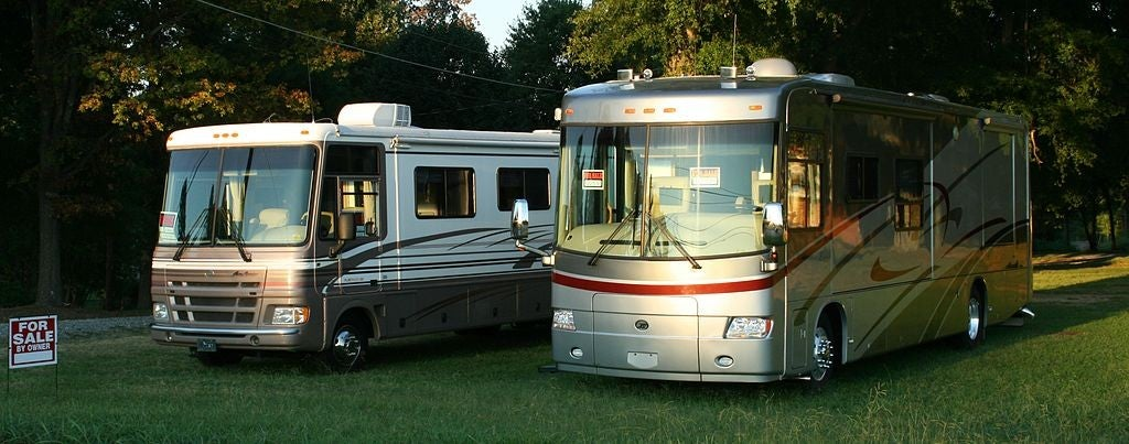 two used rv campers for sale