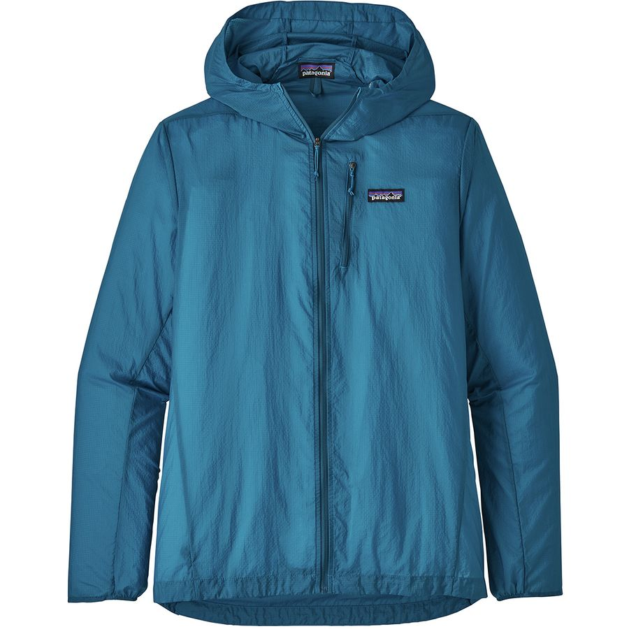 product image of a hiking jacket from patagonia on a white background