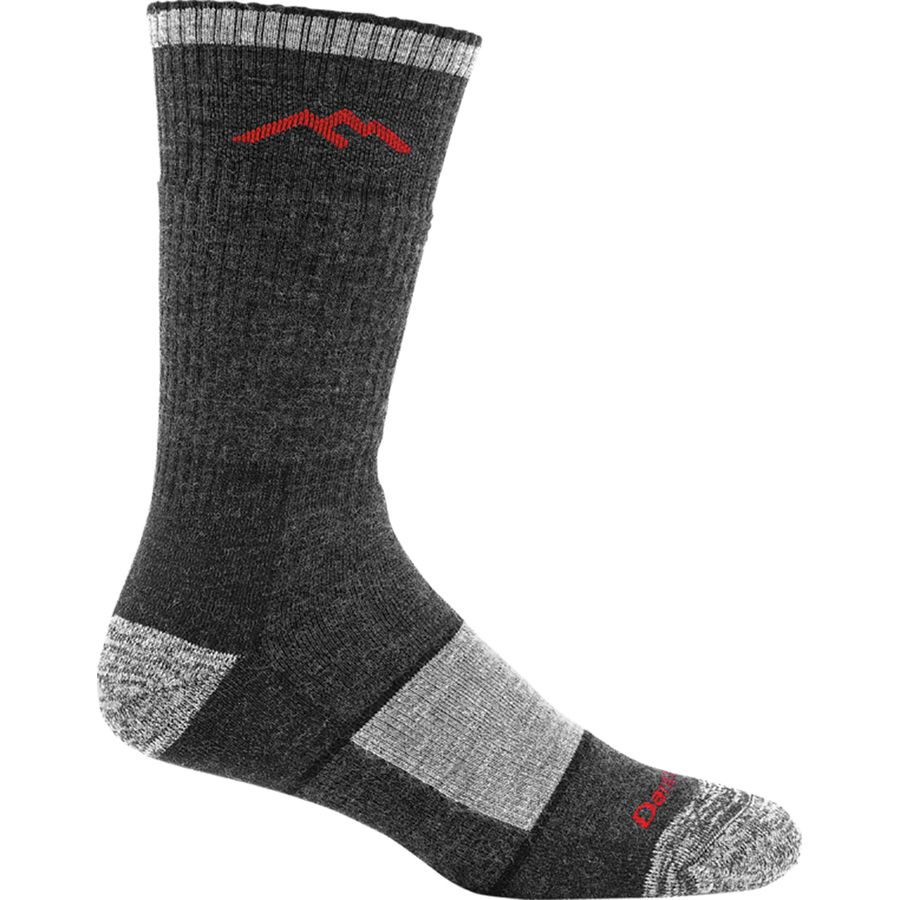 product image of a pair of merino wool socks on a white background