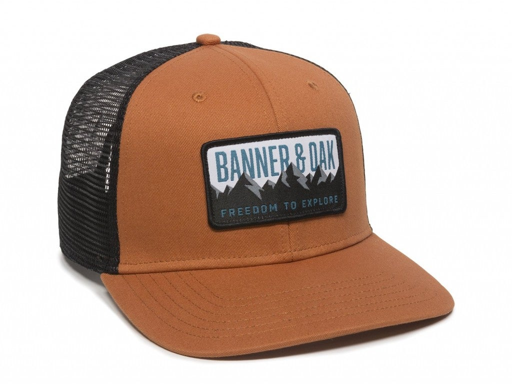 product image of a hat from banner and oak