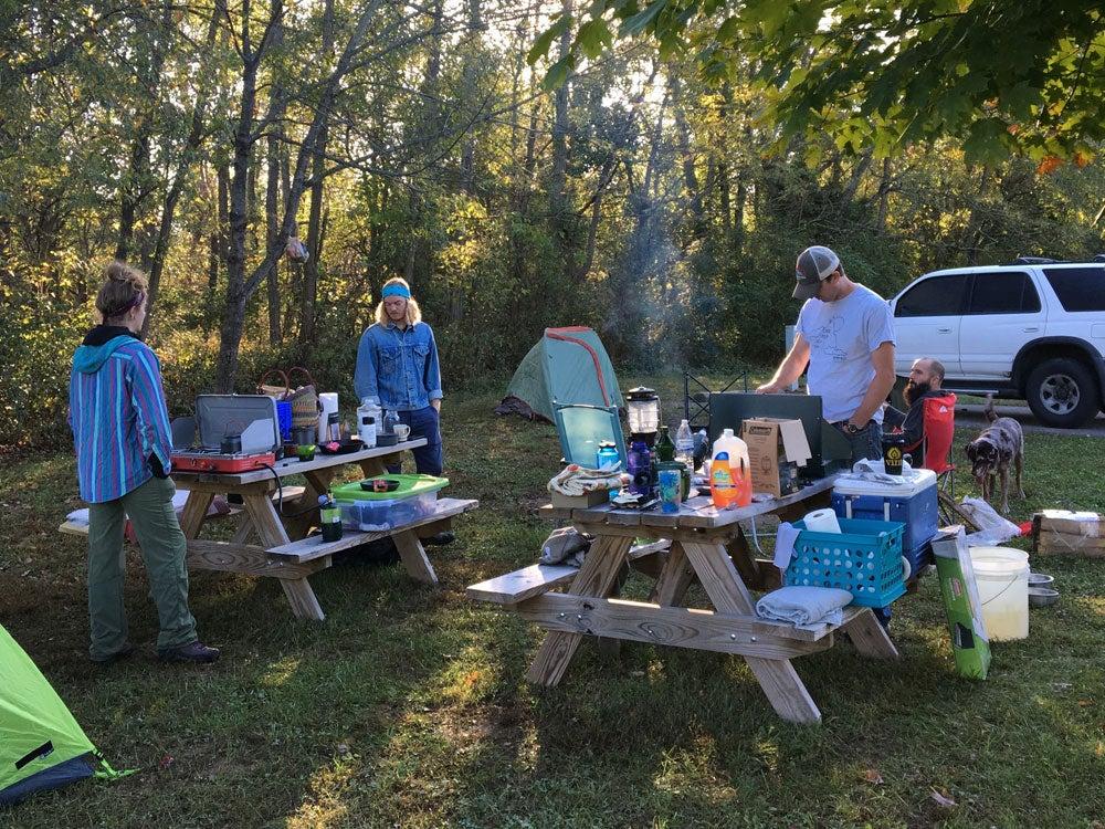 charlestown state park indiana campground