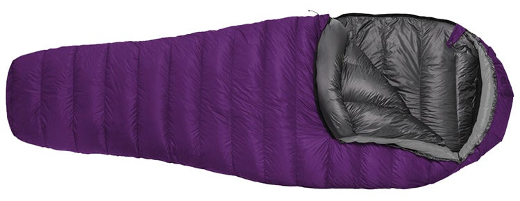 feathered friends egret sleeping bag