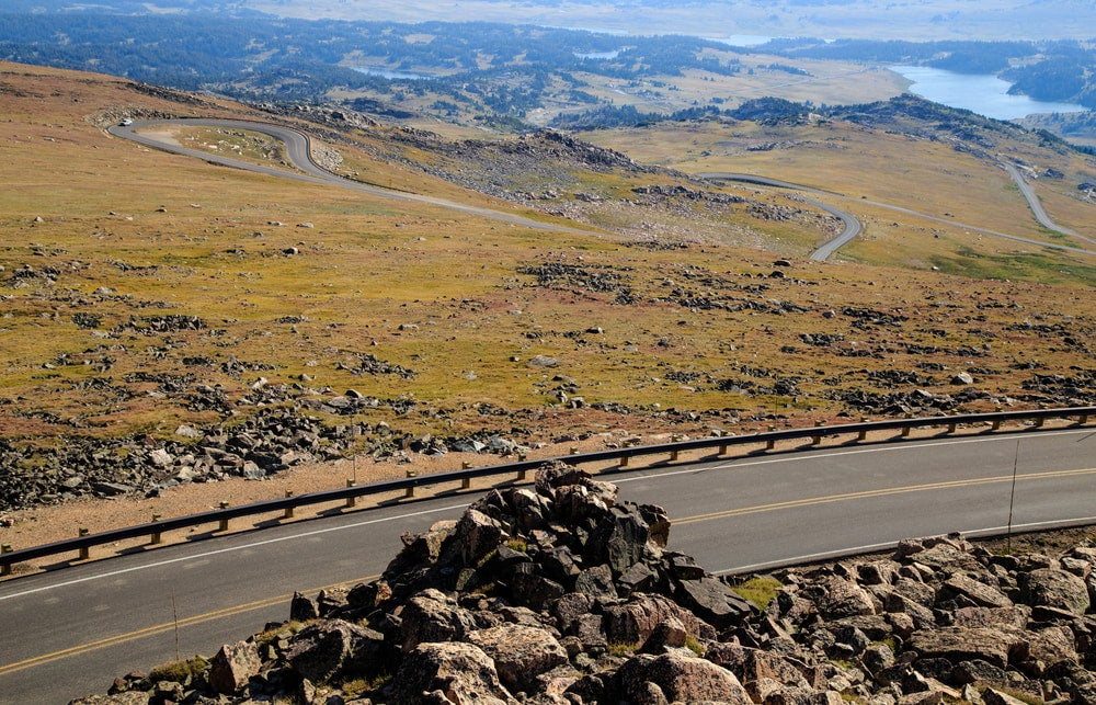 the beartooth byway in wyoming